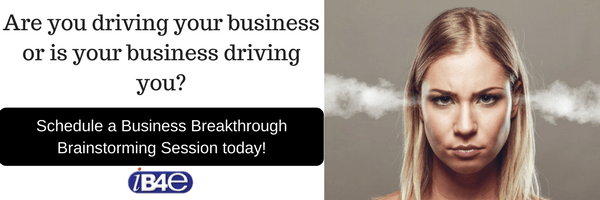 Don't Let Your Business Drive You. Take Back Control. I'll Show You How.